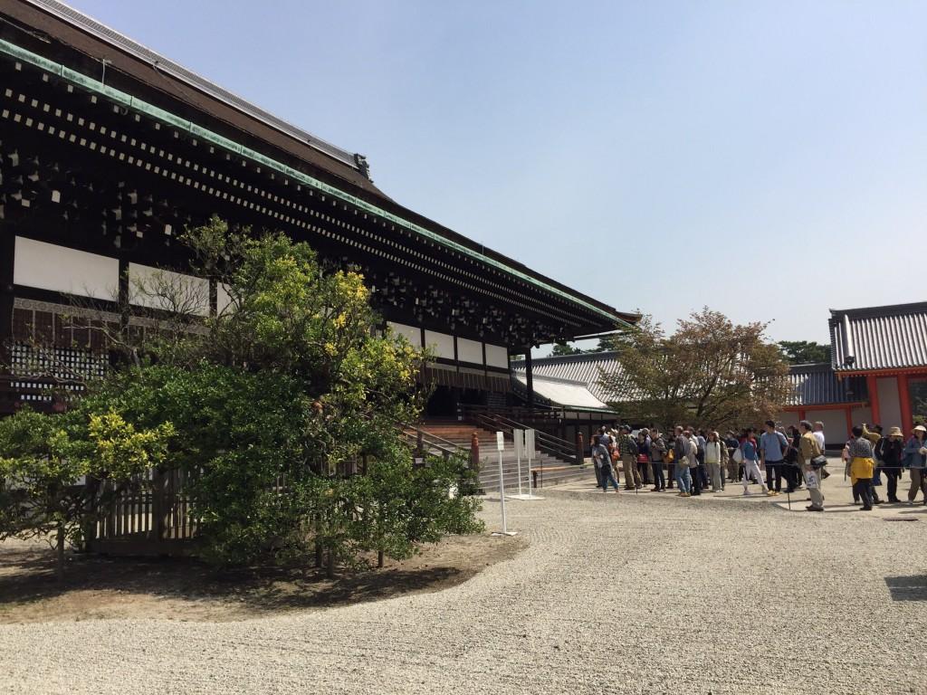 京都御所の特別拝観